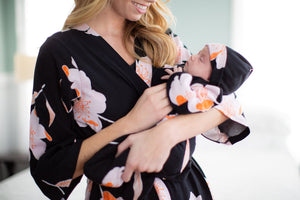 Willow Robe & Baby Gown Set