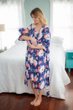 Annabelle Delivery Robe & Matching Baby Gown Set