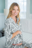 Phoebe 3/4 Sleeves Maternity Delivery Nursing Robe