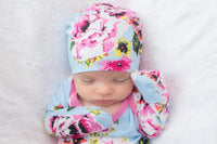 Isla Delivery Robe with Matching Baby Gown & Hat