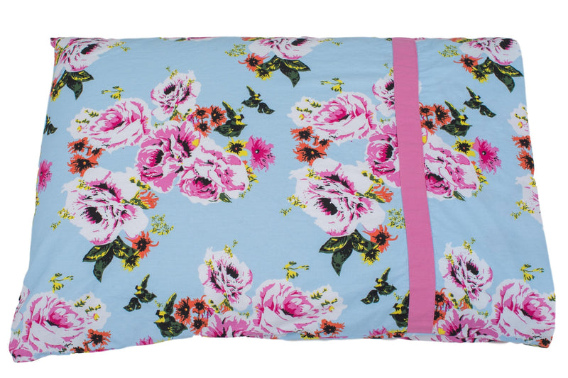 Isla Floral Cotton Pillowcase