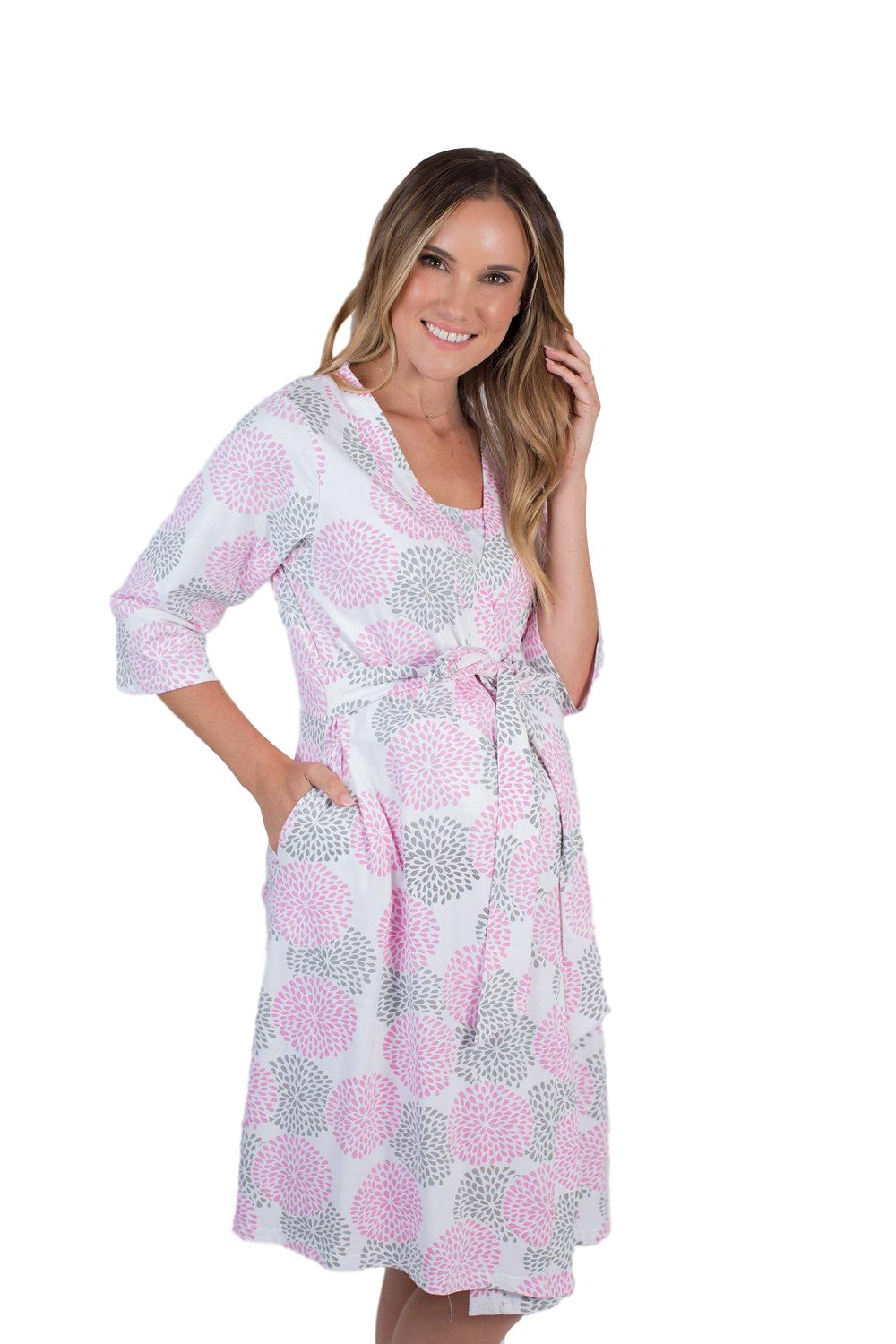 Lilly Maternity Delivery Nursing Robe