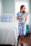 Zoe Hospital Gownie & Matching Baby Gown Set