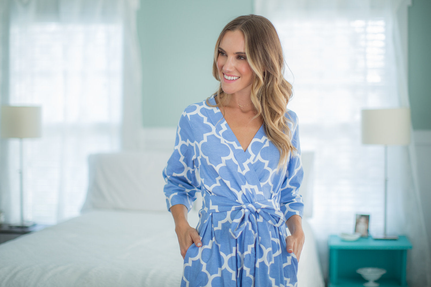 Marin Delivery Robe & Matching Baby Gown Set