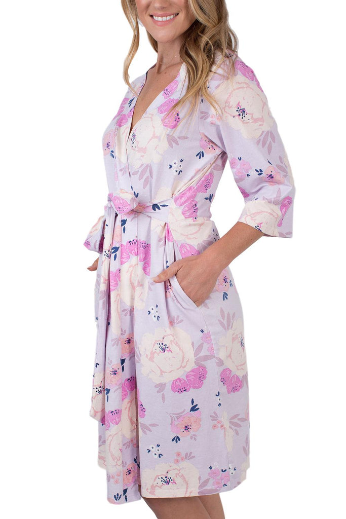 Anais Floral Maternity Delivery Nursing Robe Hospital Bag Must Have