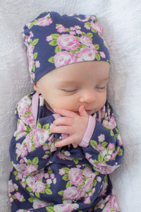 Eve Delivery Robe with Matching Baby Gown & Hat