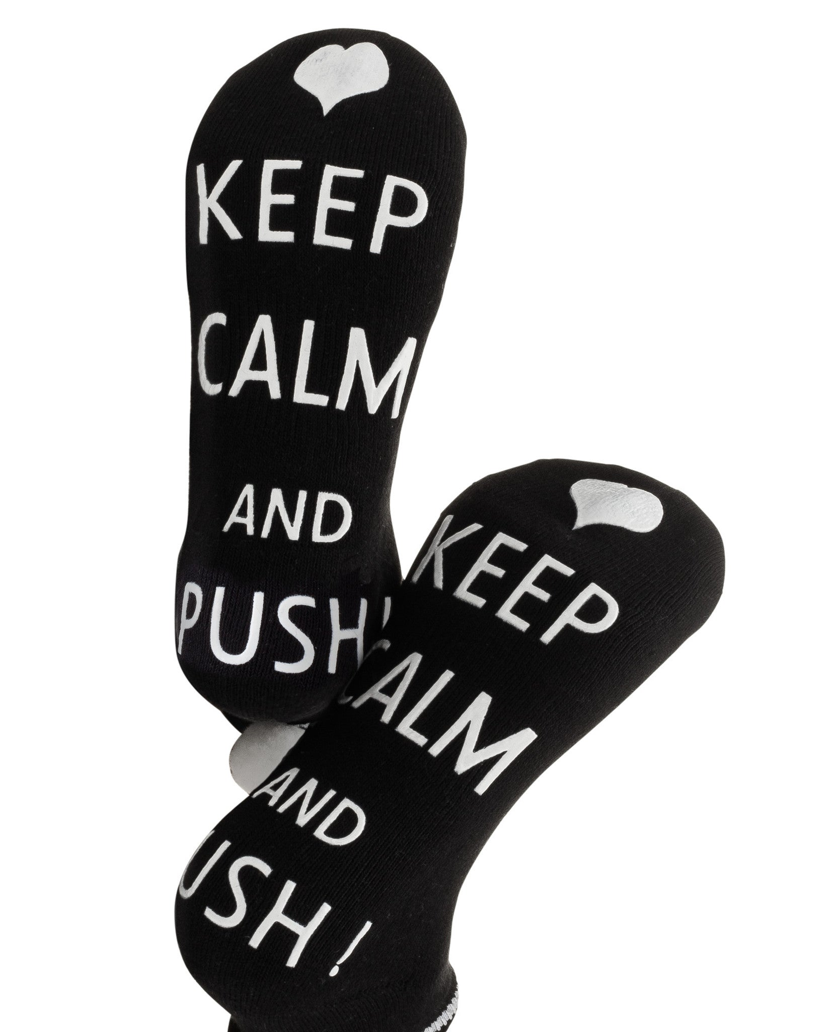 Keep Calm and Push! Labor Socks