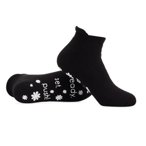 Ready.Set.Push! Labor and Push Socks -Black