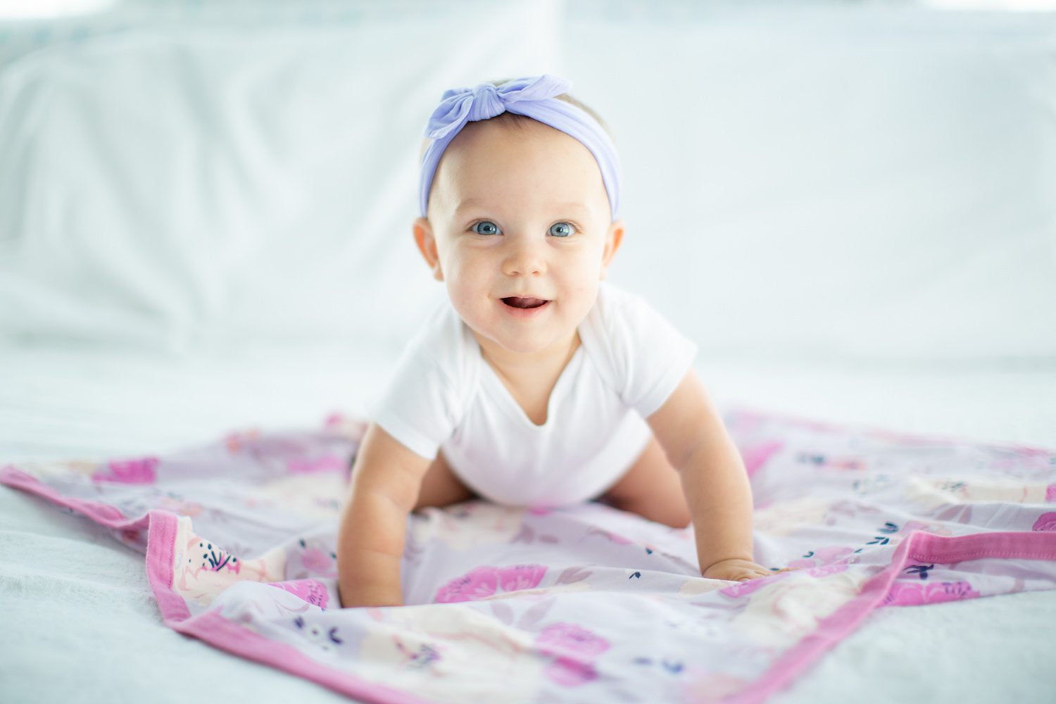 Baby Girl Soft and Stretchy Headband