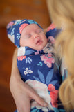 Annabelle Delivery Robe & Swaddle Blanket Set