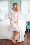 Lilly Maternity/Nursing Nightgown & Robe Set