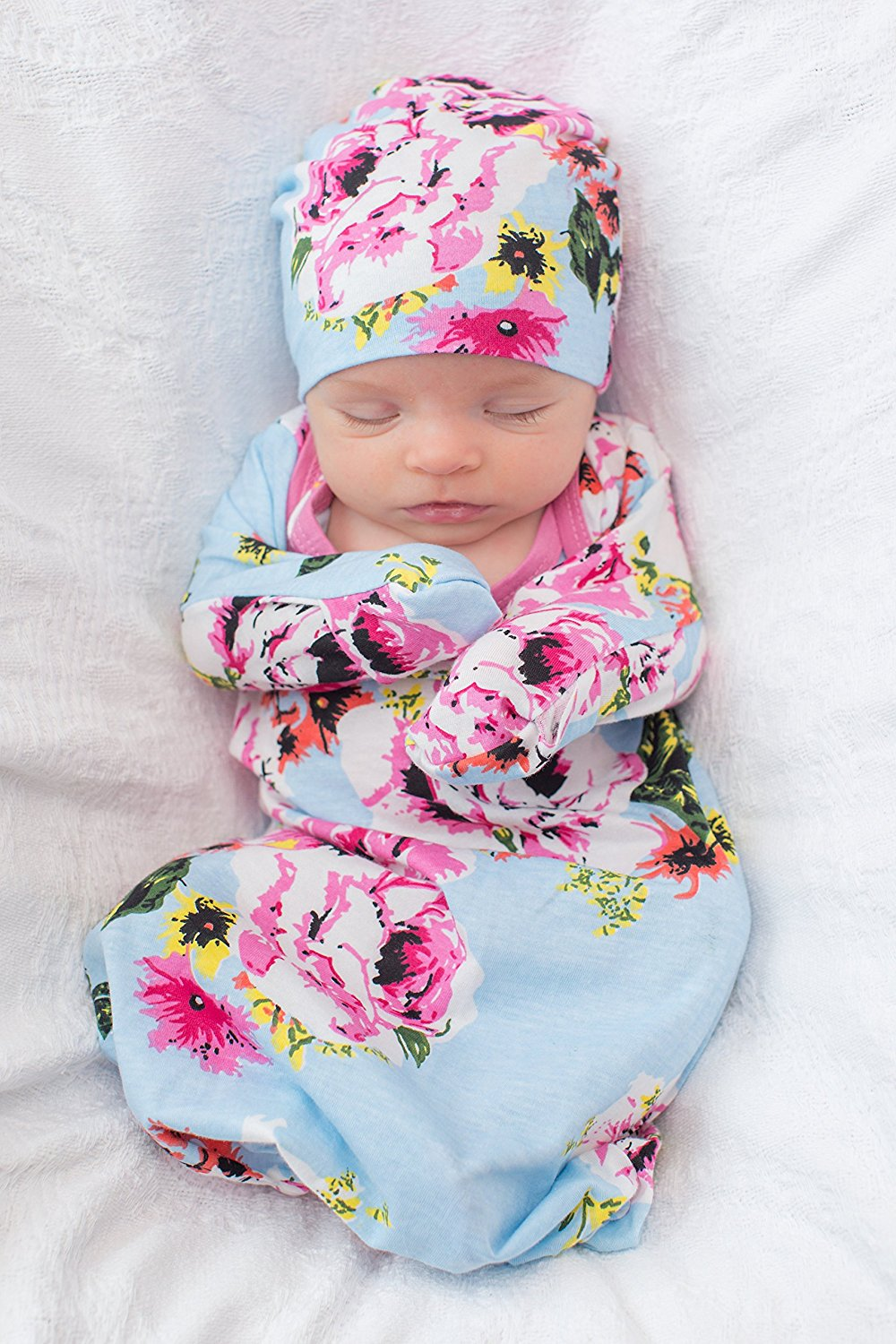 Isla Maternity Delivery Hospital Gown and Baby Receiving Gown Set