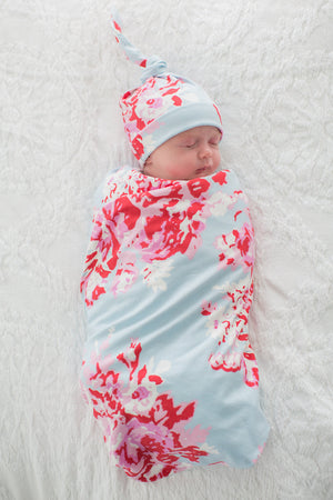 Mae Delivery Robe & Swaddle Blanket Set