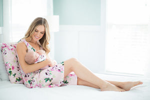 Amelia Labor Delivery Gown & Matching Newborn Going Home Set