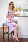 Amelia Endless House Dress & Matching Baby Gown Set