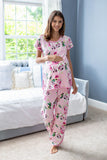 Amelia Maternity Nursing Pajama Set