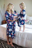 Annabelle Big Sister & Mommy Robe & Swaddle Blanket Set