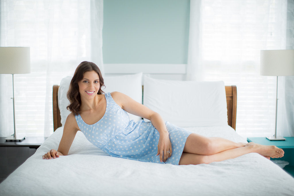 Nicole Maternity/Nursing Sleeveless Nightgown