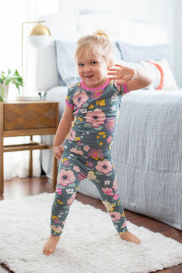 Charlotte Girls Pajama Lounge Set