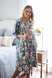 Charlotte Delivery Robe & Matching Labor Gown