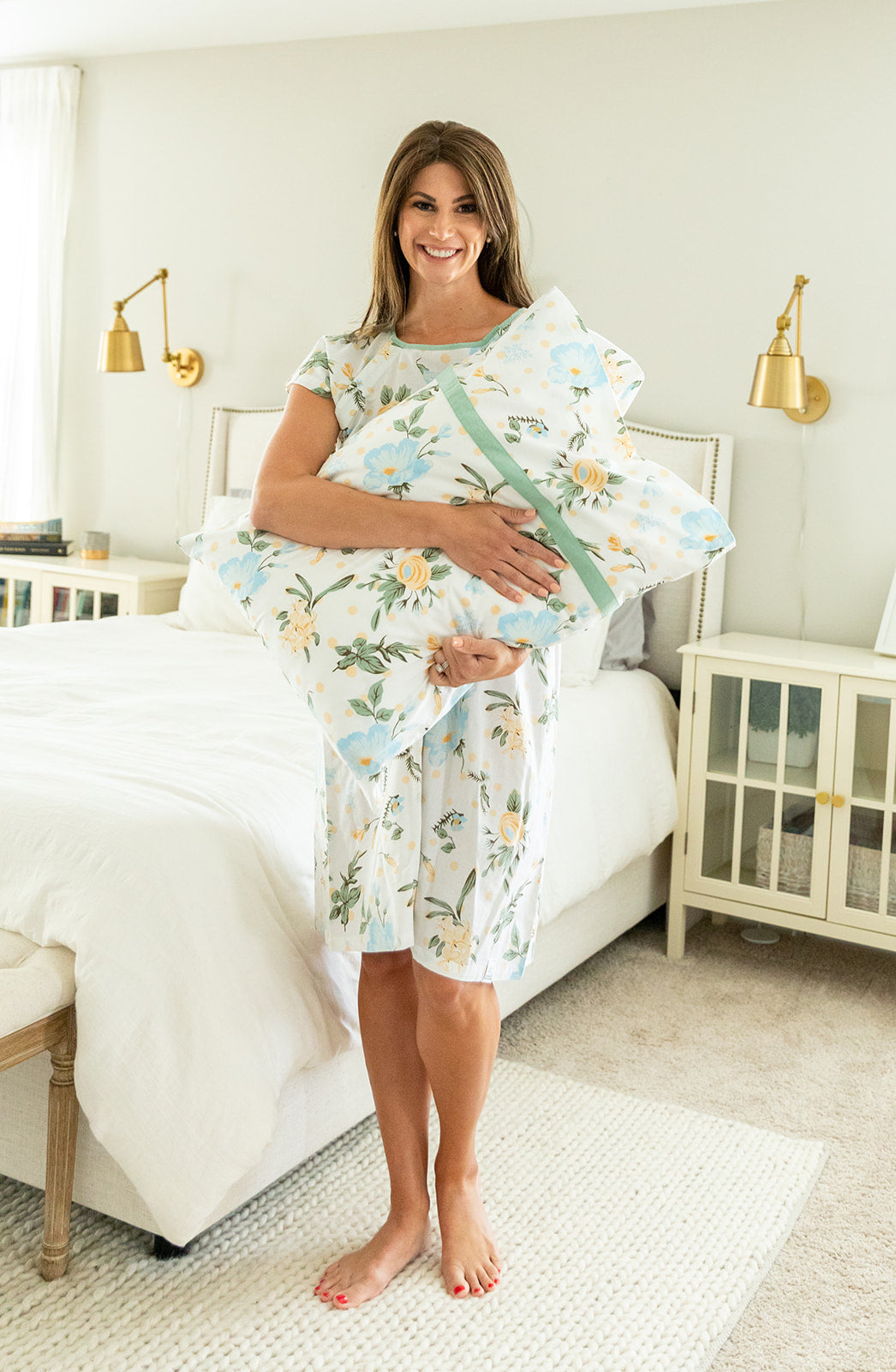 Hadley Gownie & Pillowcase Set