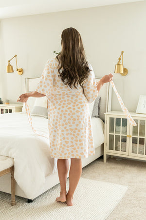 Eden Robe & Baby Receiving Gown Set