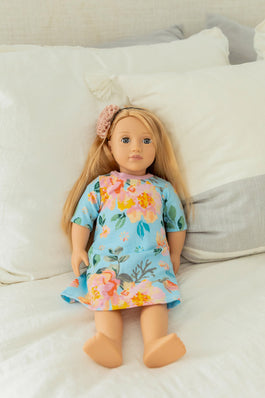 Jade Doll Dress 18 inch Doll
