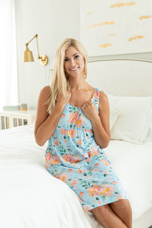 Jade Delivery Robe & Maternity Nursing Nightgown