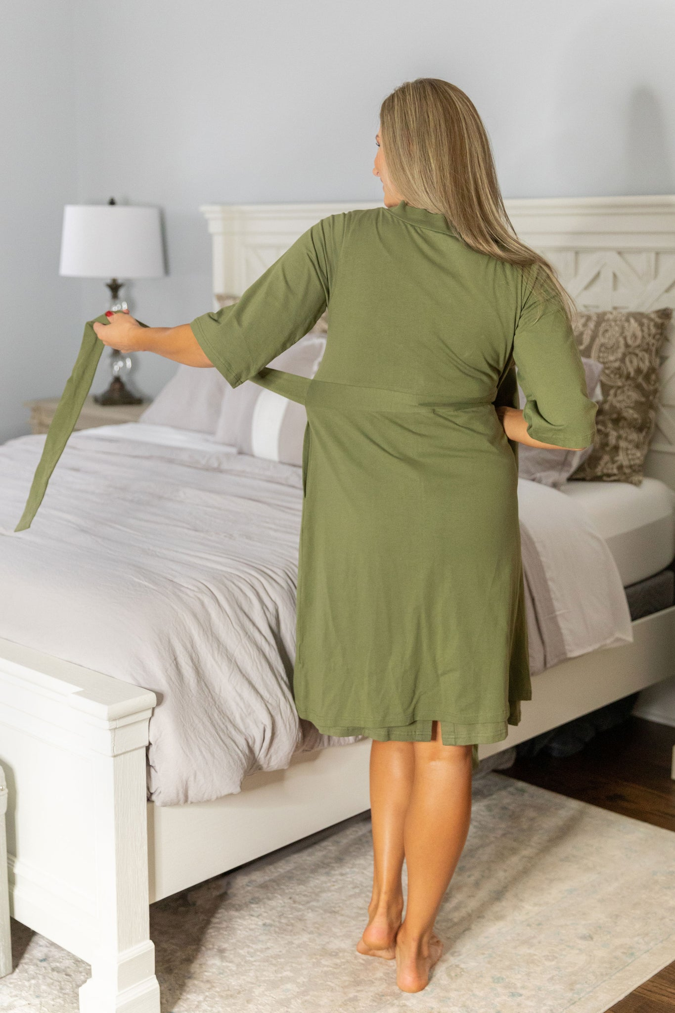 Olive Green Delivery Robe