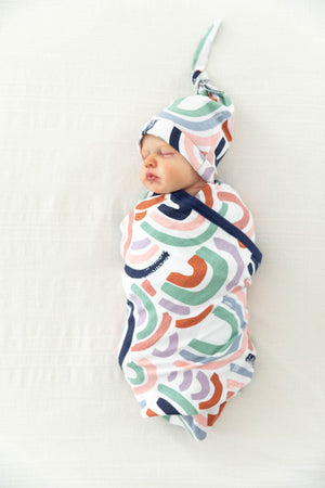 Rainbow Swaddle Blanket Set