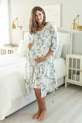 Hadley Robe & Labor Gown Set