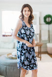 Flore Racerback Maternity / Nursing Nightgown