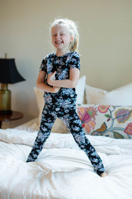 Flore Floral Girls Pajama  Set