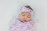 Helen Swaddle Blanket and Headband Set