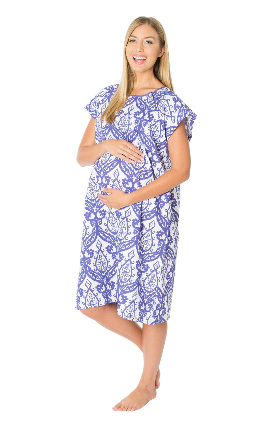 Brie Gownie Maternity Delivery Labor Hospital Birthing Gown – Baby ...