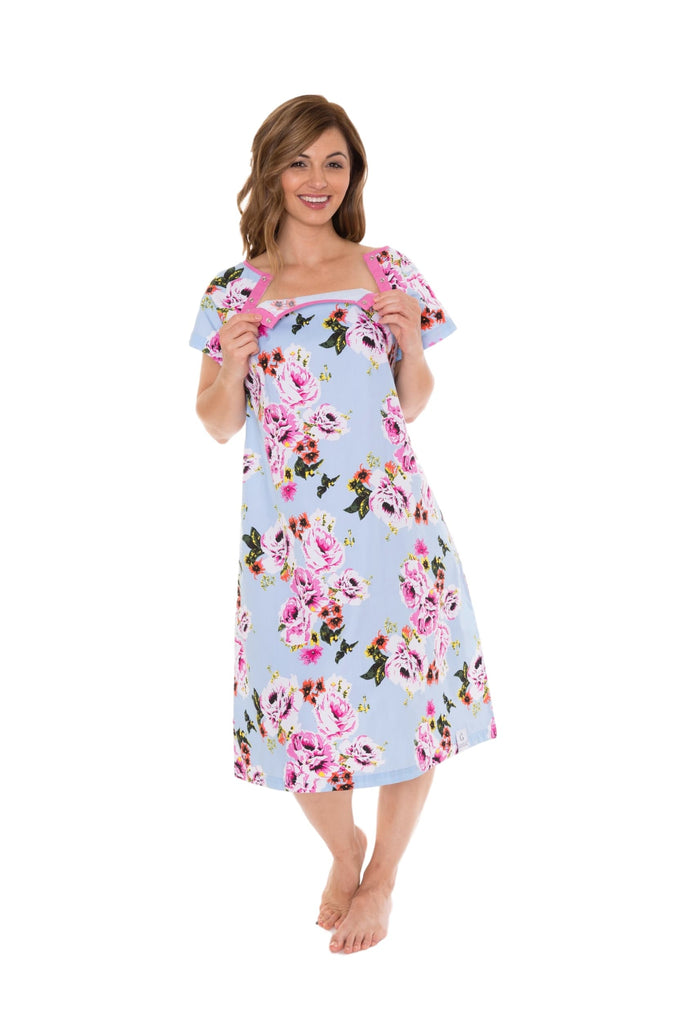 Isla Gownie Maternity Delivery Labor Hospital Birthing Gown