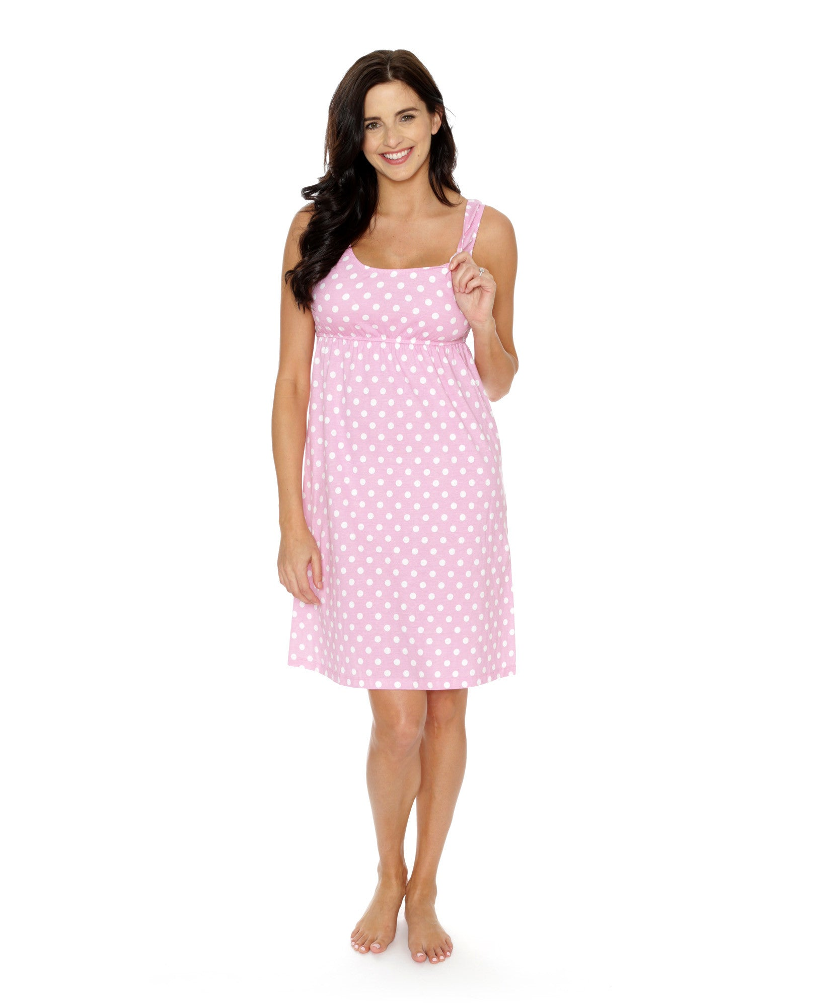 Molly Maternity/Delivery /Nursing Nightgown, Robe & Baby Receiving ...