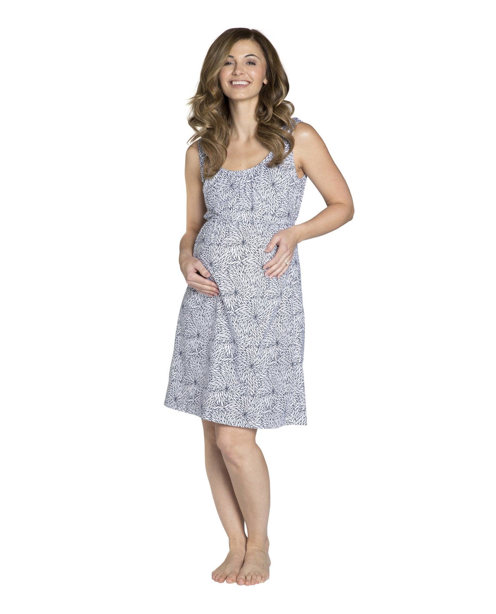 73a42585d10 Harper maternity nursing nightgown – Baby Be Mine