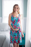 Isabelle Maternity/Nursing Nightgown & Baby Gown Set