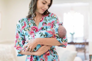 Isabelle Delivery Robe & Swaddle Blanket Set