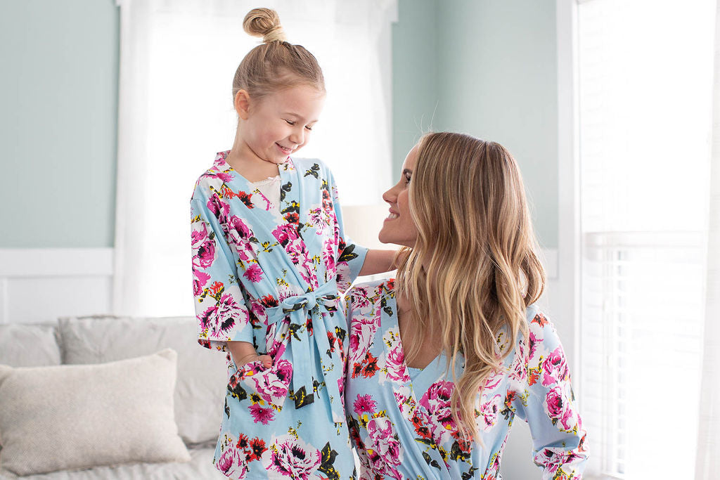 Isla Girl & Mommy Robe