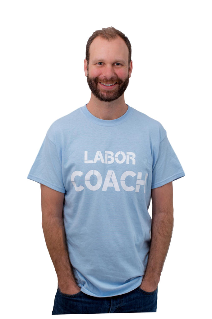Labor Coach T Shirt Light Blue