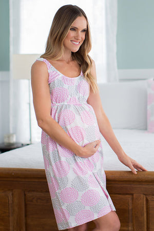 Lilly 2 in 1 Maternity Nursing Nightgown