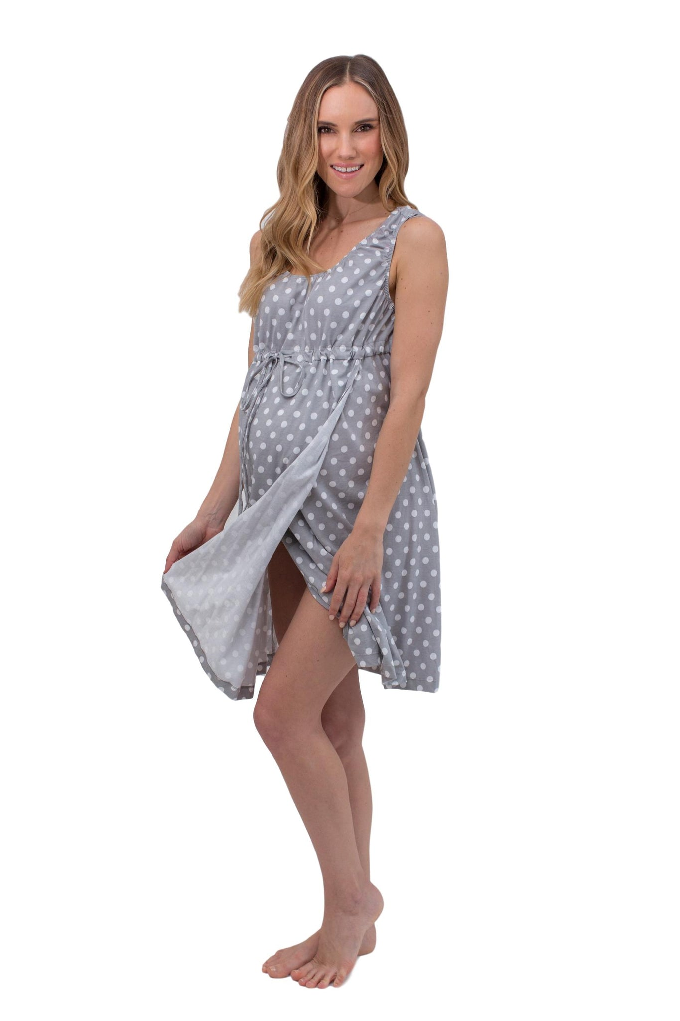 Lisa 3 in 1 Labor Gown & Baby Gown Set