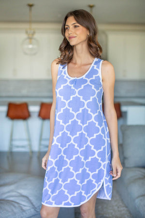 Marin Racerback Maternity Nursing Nightgown