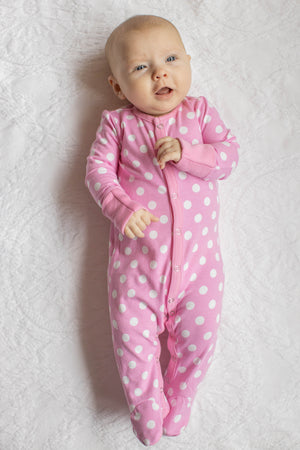 Molly One Piece Footed Baby Romper