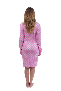 Molly Long Sleeve Maternity Delivery Robe