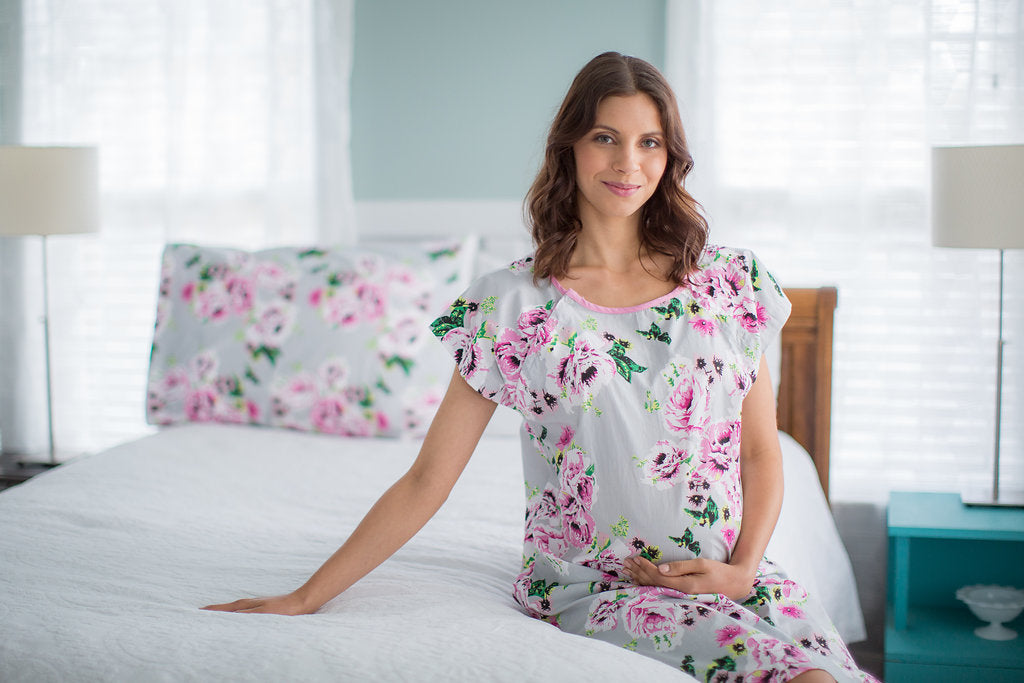 Olivia Gownie Maternity Delivery Labor Hospital Birthing Gown