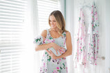 Olivia Maternity/Nursing Nightgown & Baby Gown Set