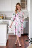 Olivia Nursing Nightgown &  Delivery Robe Set